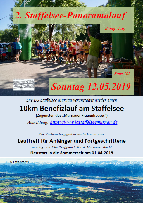2. Staffelsee Panoramalauf 12.05.2019 Velo Welt feine