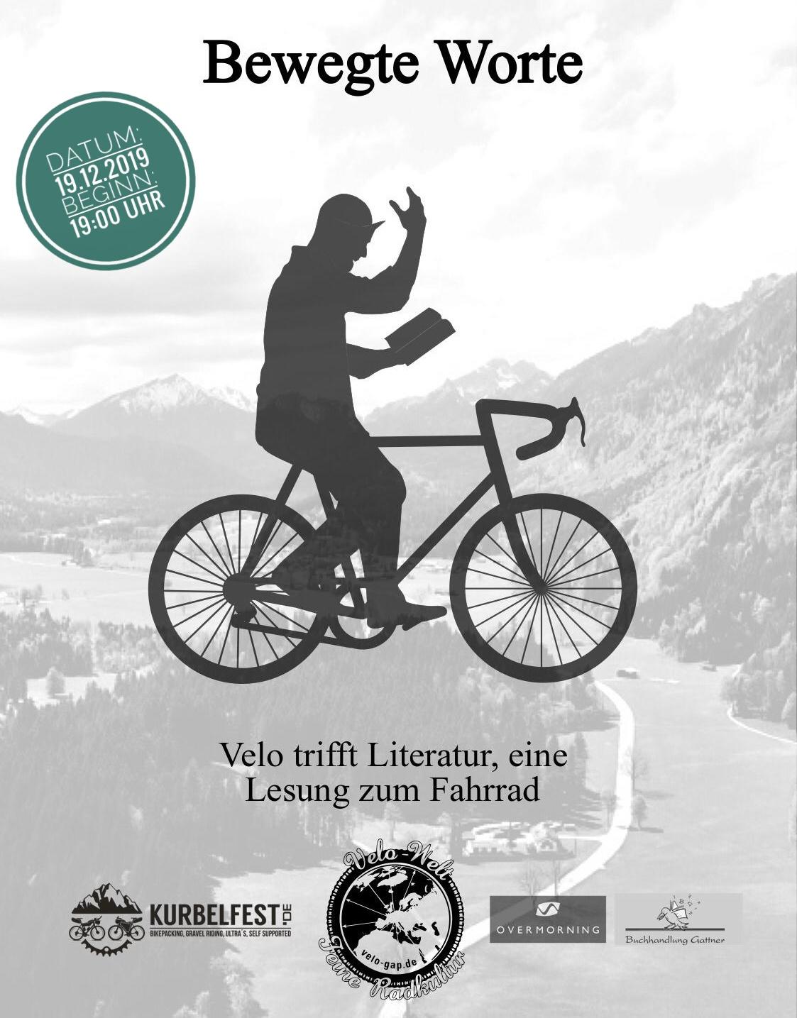 Bewegte Worte - Eine Lesung zum Fahrrad